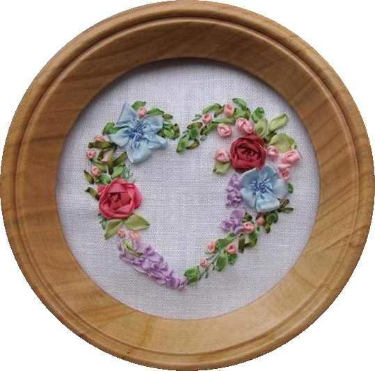 ribbon embroidery kit,   embroidery design, ribbon embroidery, silk ribbon embroidery kits online, embroidery kits for beginners, ribbon embroidery patterns, designs, silk ribbon heart