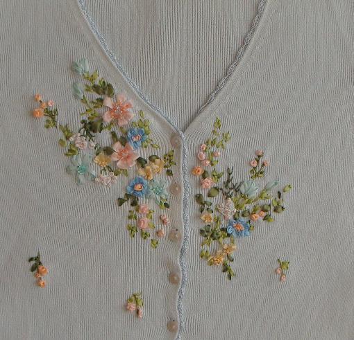 киев, схемы для вышивки лентами скачать бесплатно, вышивка лентой по одежде