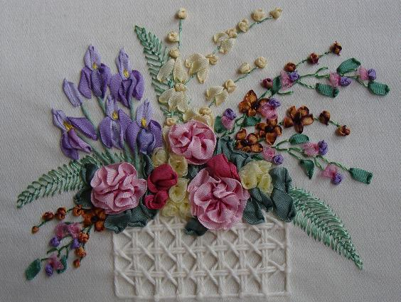 History Of Silk Ribbon Embroidery