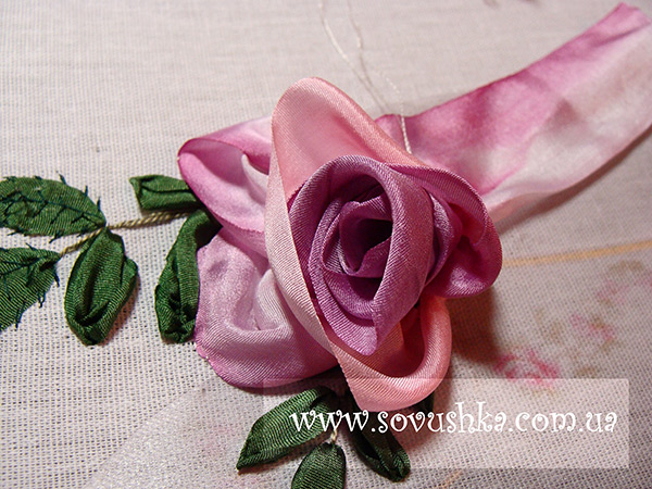 Silk Ribbon Flowers Embroidery Flowers Healthy