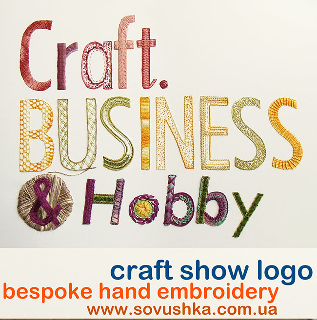 bespoke embroidery, embroidered logo, hand-embroidery, custom-made embrodiery