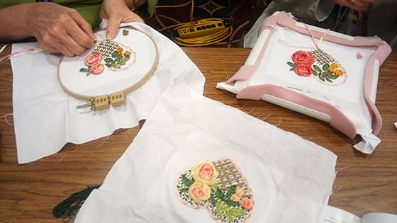 ribbon embroidery for beginners, book on silk ribbon embroidery, silk ribbon embroidery kits