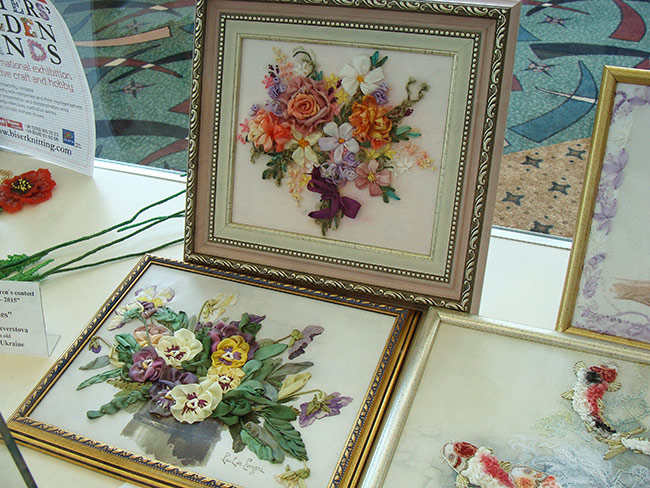 ribbon embroidery, silk ribbon embroidery, kits for ribbon embroidery, natural silk ribbon