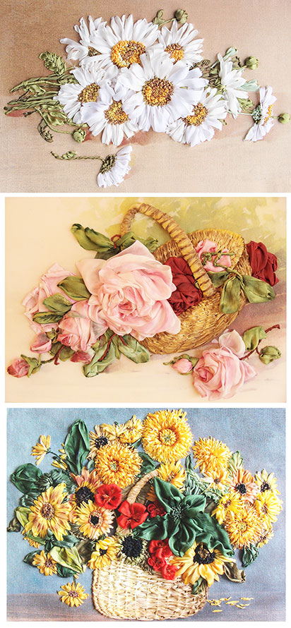book on ribbon embroidery, silk ribbon embroidery designs, ribbon embroidery book for beginners to buy, beginner stitch guide