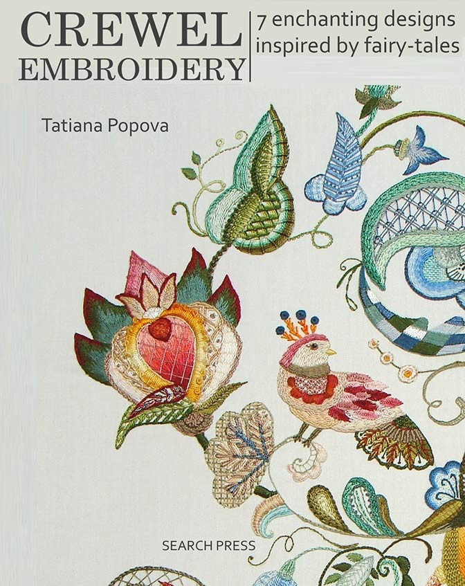 crewel embroidery book, crewel embroidery, jacobean embroidery book, designs for crewel jacobean, crewel stitches, jacobean embroidery designs, crewel for beginners, embroidery stitch guide