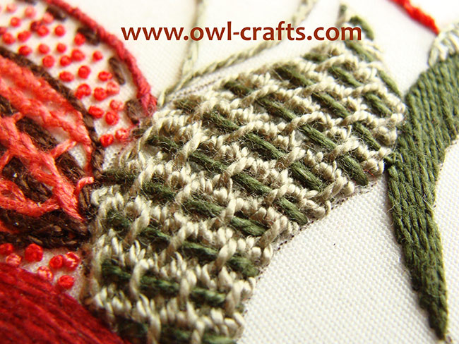 crewel embroidery, crewel designs, crewel embroidery patterns, jacobean crewel, crewel stitches instructions.