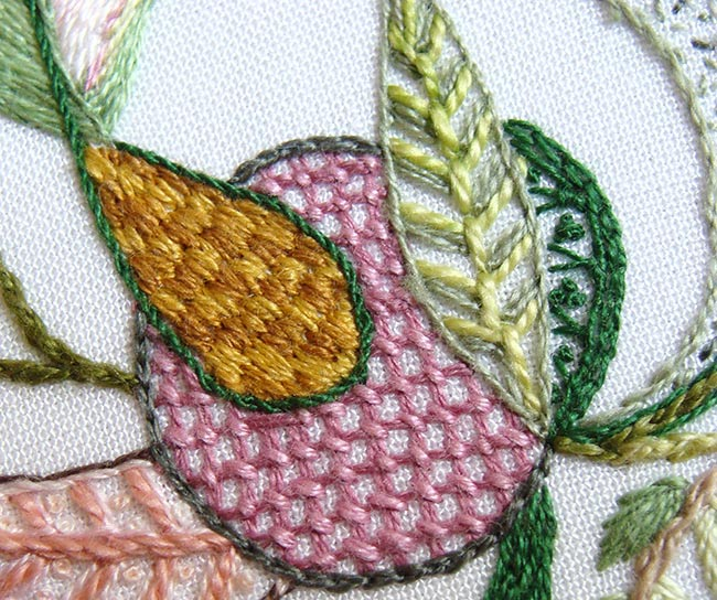Captured By Flora Crewel Design Mesmerizing Crewel Embroidery Patterns