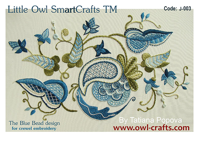 Patterns And Designs For Crewel Embroidery