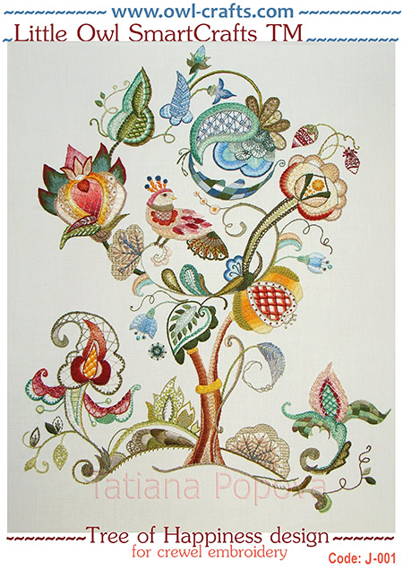 crewel embroidery, crewel patterns, jackobean embroidery stitches, crewel designs, crewel ideas