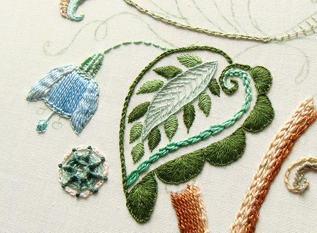 crewel embroidery, crewel designs, jacobean embroidery kits, templates for crewel embroidery, crewel stitches