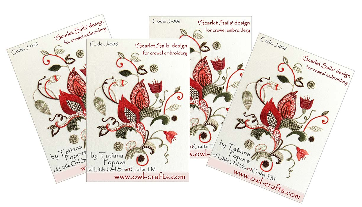 crewel embroidery, jacobean embroidery, crewel designs, crewel embroidery patterns, crewel stitches
