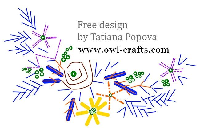 схемы вышивки лентами бесплатно скачать, вышивка шелковыми лентами, бесплантые схемы вышивки лентами, вышивка лентой для начинающих схемы бесплатно