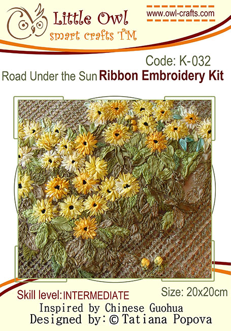 ribbon embroidery kits, silk ribbon embroidery, ribbon flowers, stitch guide for beginners in ribbon embroidery
