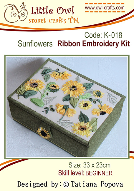silk ribbon embroidery, ribbon embroidery kits, silk ribbon sunflowers, silk ribbon, beginners guide to ribbon embroidery