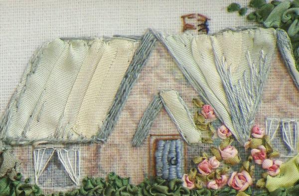 Бесплатные схемы для вышивки лентами