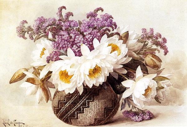 вышивка лентами цветы фото