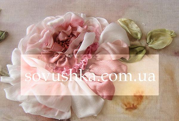 Short Tutorial On Silk Ribbon Roses